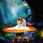 ফটোশপ টিউটোরিয়ালঃ দেখে নিন কিভাবে ছবিতে ফ্যান্টাসি ইফেক্ট দিতে হয় – Mashroom Girl Photo Manipulation