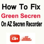 রেকর্ড চালু করলে স্ক্রীন Green হয়ে যায়? নিয়ে নিন সমাধান !!!   সাথে নিয়ে  নিন AZ Secren Recorder Pro.