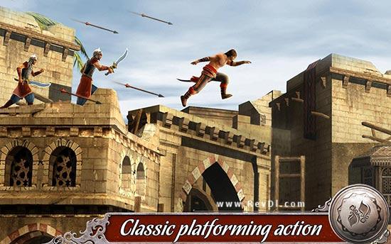"""আপনার এন্ডোয়েড মোবাইলে খেলুন অসাধারন Graphics,Action কোয়ালিটি সম্পন্ন একটি গেইম""""Prince Of Persia Shadow & Flame"""" (Mod Version)। মেগাবাইট আপনার সাধ্যের মধ্যে।"""