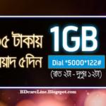 GP 1GB 35 Tk for 5 Days New Internet Offer 2017