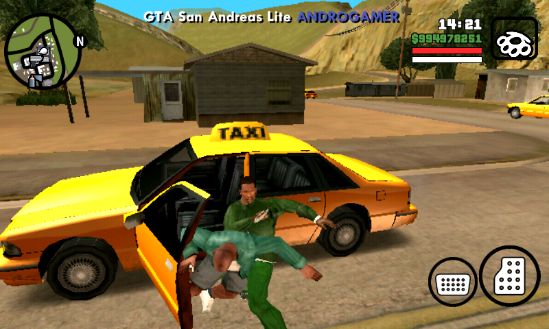 GTA San Andreas lite apk+Data Highly compressed [ONLY 221 MB]-by Az
