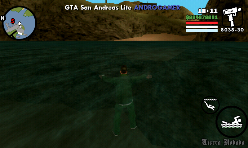 GTA San Andreas lite apk+Data Highly compressed [ONLY 221 MB