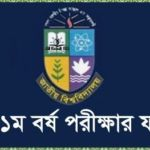 National University Honours 1st Year Exam Result 2017 Session 2016
