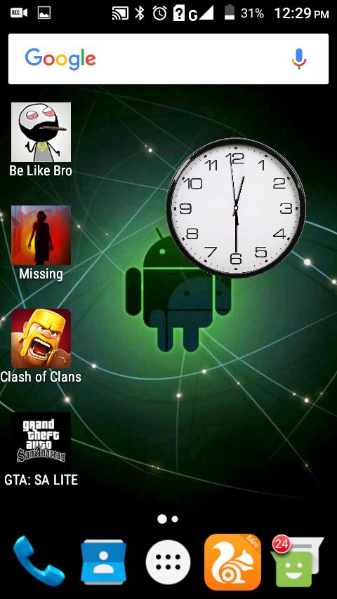 [Android App] কেমন হয় যদি আপনার Home screen এবং Lock screen এ সেকেন্ডের কাঁটা যুক্ত একটি ঘড়ি থাকে? – by Zunayed #81z0008