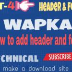 [wapka]কিভাবে একটি Full DOWNLOAD SITE বানাবেন (part-4) [আমার সাইট এর মত]-by Az