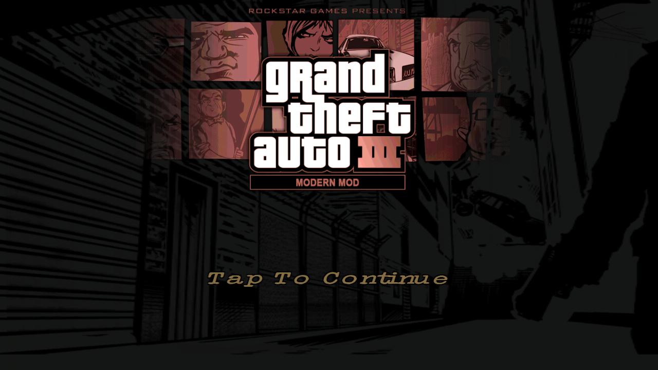 [Game] নিয়ে নি GTA III Modern   city Mod  Apk+Data Highly compressed [ONLY 177 MB]-by Az