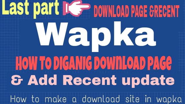 এডিমন ভাইয়ারা একটু পোস্ট টা দেখিয়েন [wapka]কিভাবে একটি Full DOWNLOAD SITE বানাবেন (Last part) [আমার সাইট এর মত]-by Az