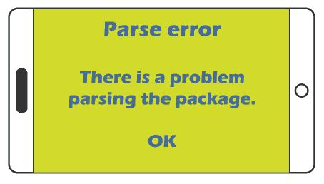 Solved: 'There was a problem parsing the package'/ অ্যাপ ইন্সটল সমস্যা।