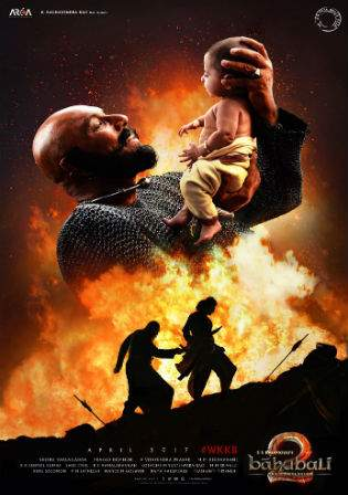 Baahubali 2 The Conclusion 2017 DvDRip HD Full Movie Download  1 GB