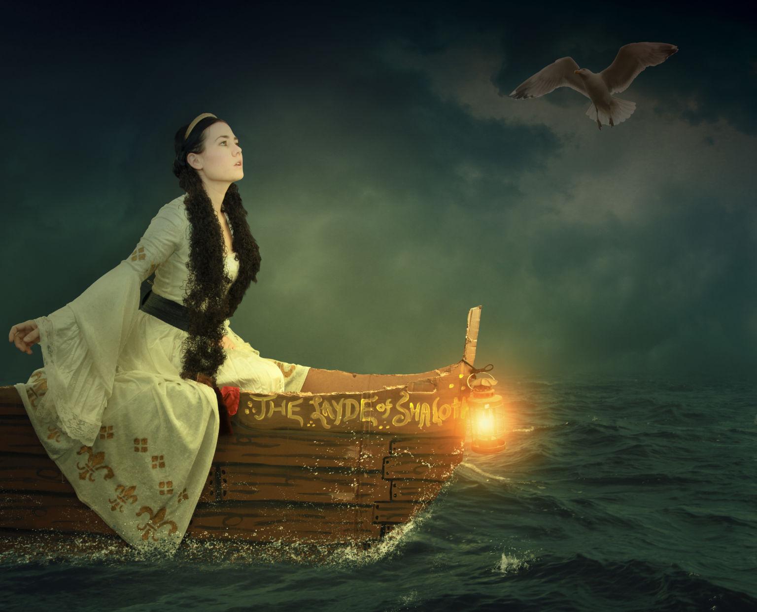 ফটোপশপ মেনিপুলেশন টিউটোরিয়ালঃ Lady On The Sea | ব্যাকগ্রাউন্ড পরিবর্তন করুন