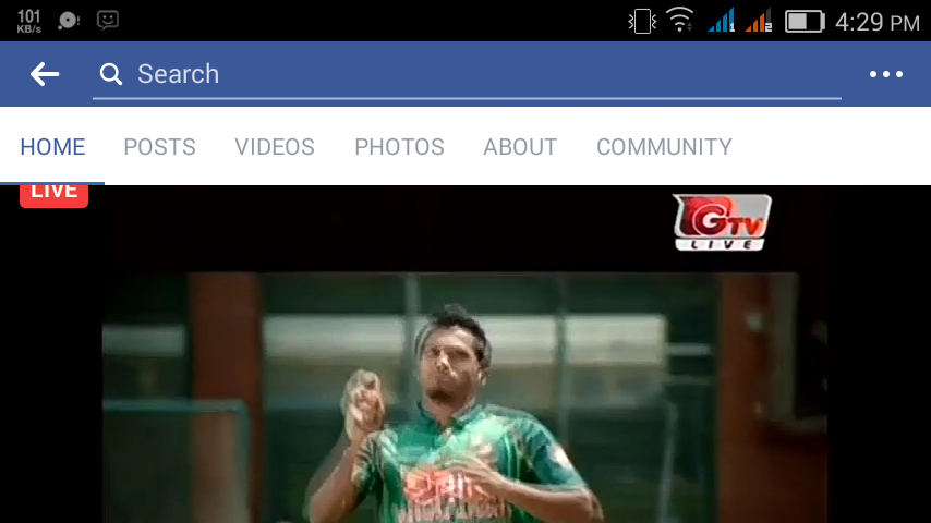 Bangladesh vs New Zealand live on facebook 24/5/17