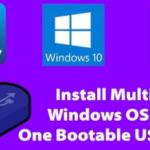 Win/7/8.1/10 একসাথেই Bootable করুন একটি USB Drive দিয়েই Working