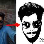 PicsArt Black And White Effect Color Currection Sshot Tutorial By Najmul