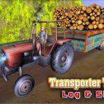 তোমাদের জন্য নিয়ে  নেও অসাধারন একটি গেম। (Transporter Tractor Log&Silage)