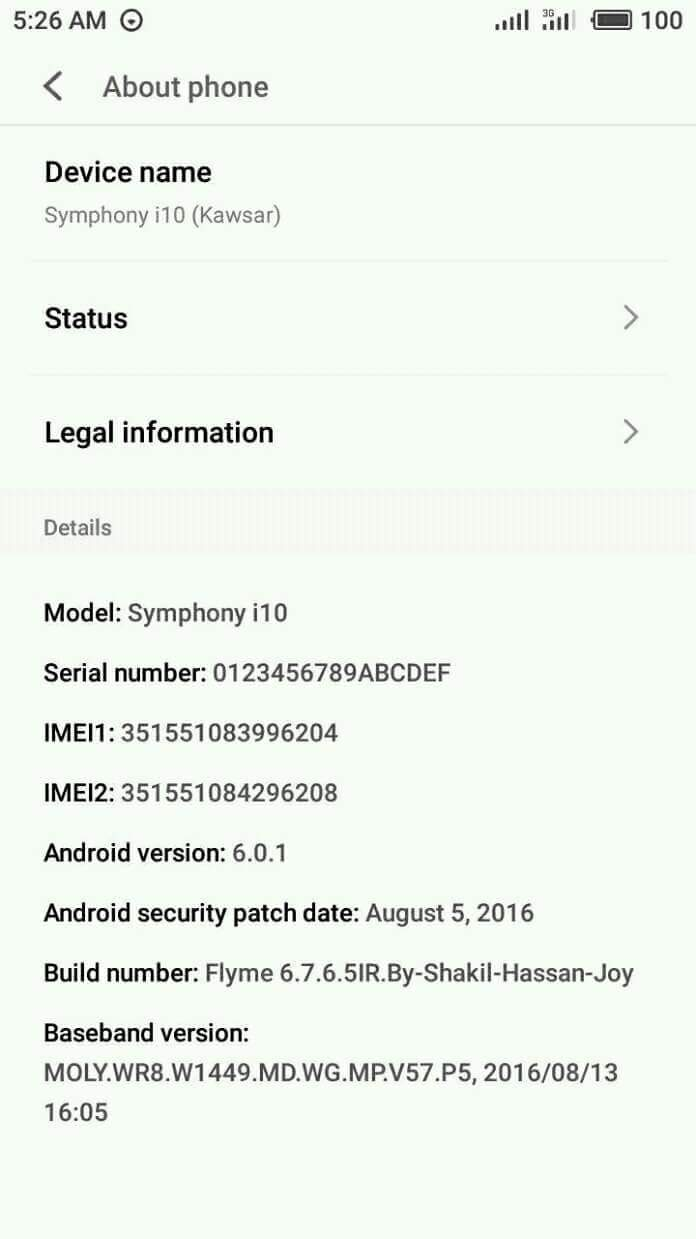 [MT6580][3.18.19] Flyme OS 6.7 Custom Rom For Symphony i10
