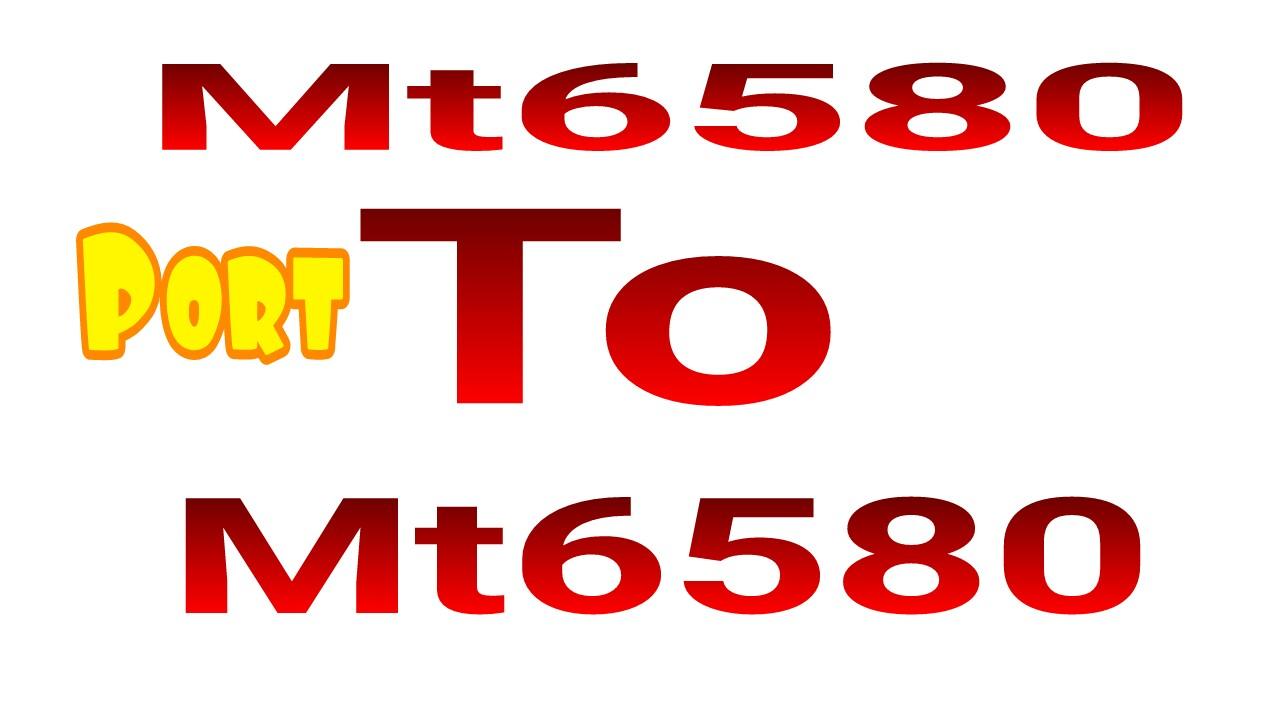 দেখে নিন কিভাবে Mt6580 রম পোর্ট করবেন।Kernel v 3.10.72+ (by sp khalad)
