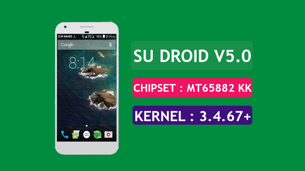 [MT6582] [6.0.1] SU Droid V5.0 MM Rom For Symphony W69Q