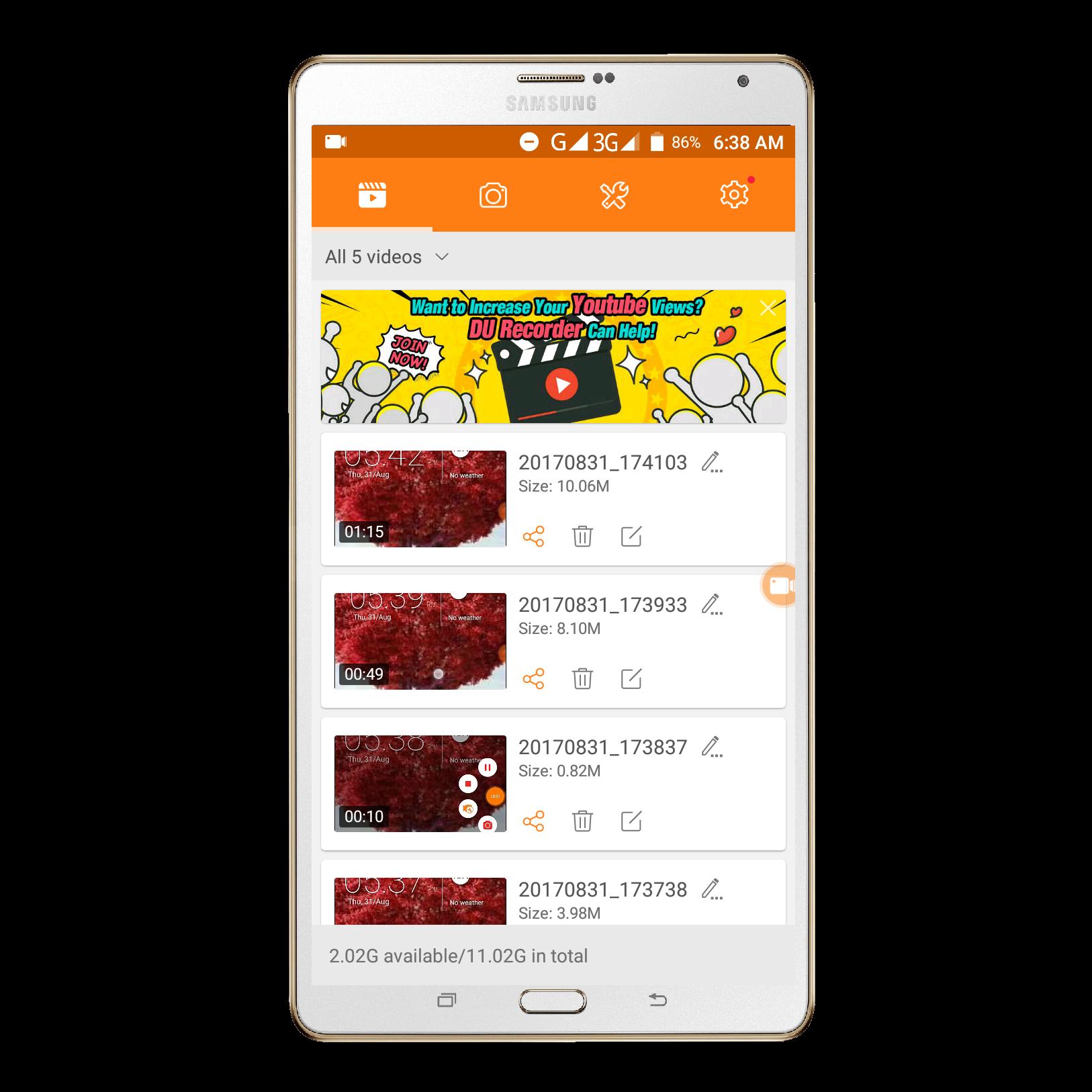 নিয়ে নিন Android সেরা Screen Recorder and video Editor।Root and unRoot যে কোন ফোনে Support করে।।কেউ মিস কইরেন না