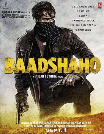 ডাউনলোড করে নিন Badshaaho 2017 Hindi pDVDRip 1.4 GB 700mb & 300mb Download *No Ads*………BY   NABI