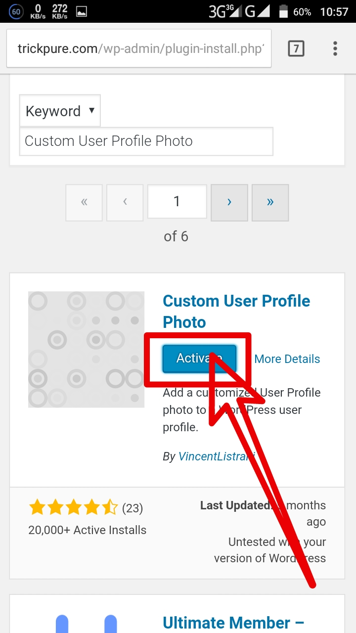 WordPress User Profile Picture
