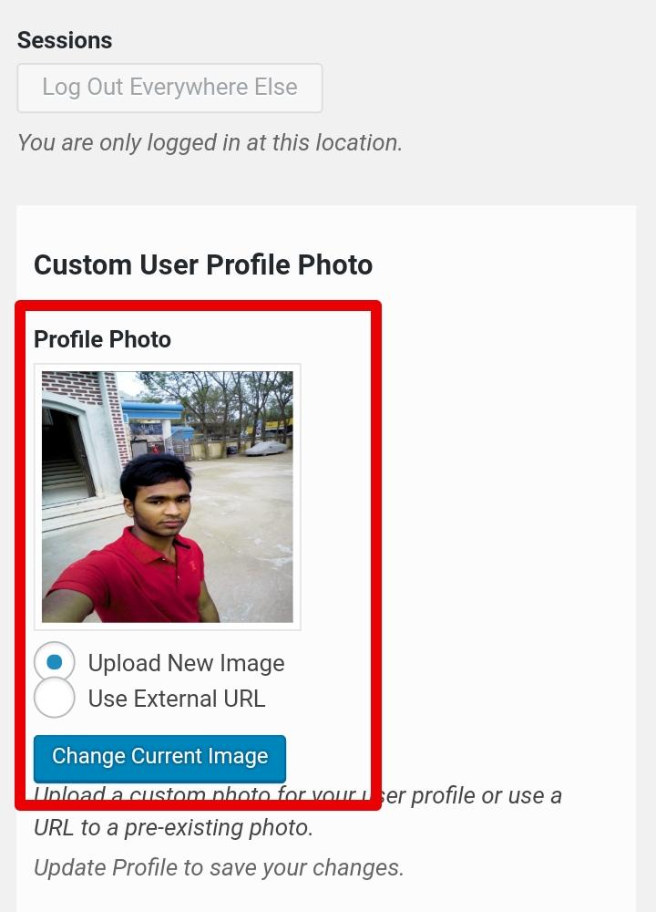 কিভাবে WordPress User Profile Picture আপলোড করার সুবিধা দিবেন