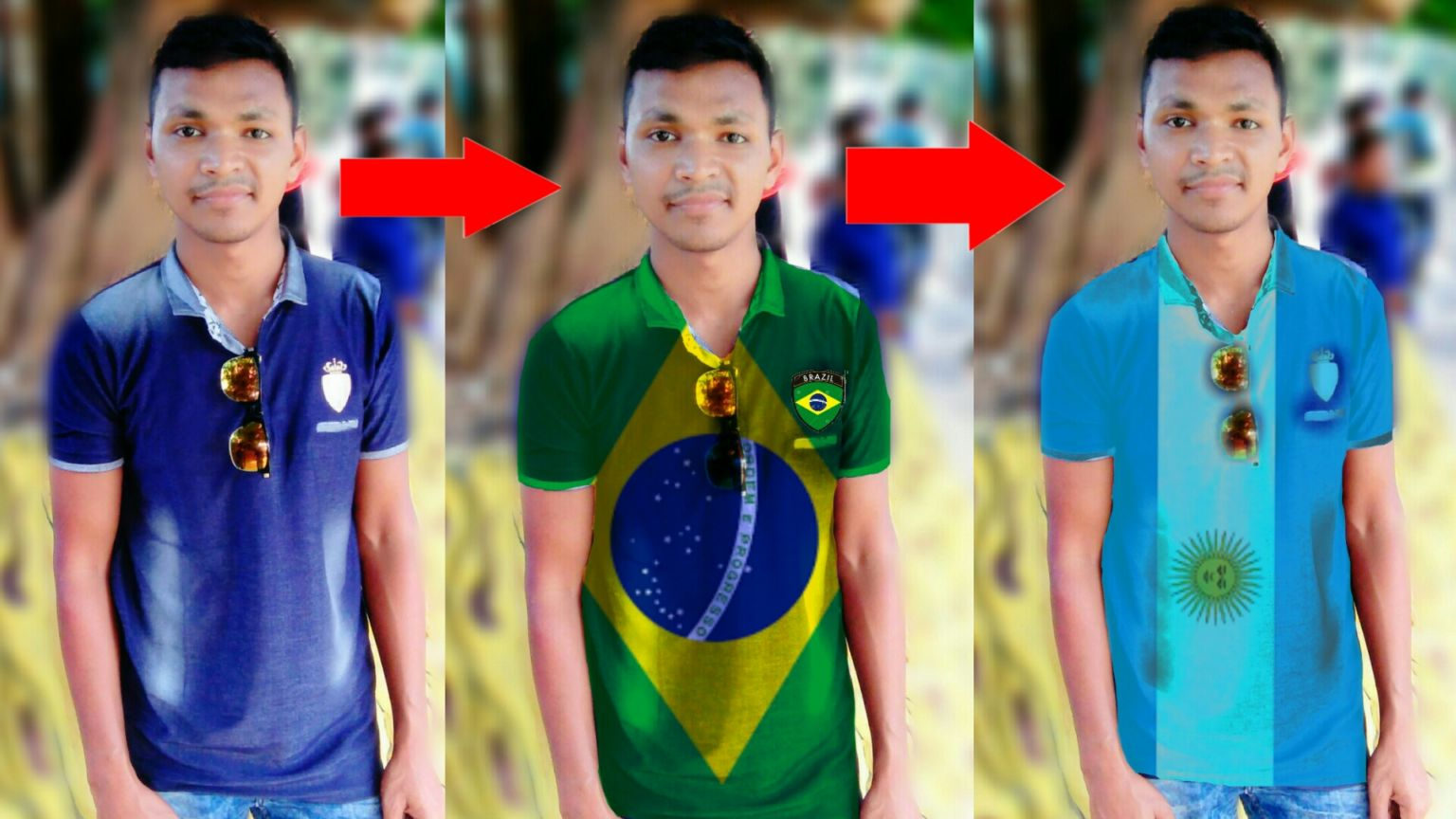 [Football Lovers Don't Miss] প্রিয় ফুটবল দল এর পতাকা ও কোনো ছবি ও নিজের Tshirt  বানিয়ে নিন Adndroid  phone দিয়ে। Picsart Editing  Like photoshop