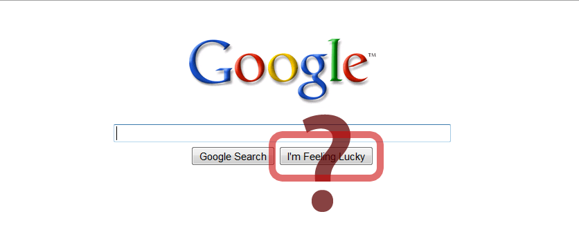 "Google এ ""i am feeling lucky"" কথাটির অর্থ কি? [with screenshort]"