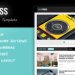 Geek Press Blogger Template | রিসপন্সিভ নিউজ এবং ম্যাগাজিন টেমপ্লেট ফ্রি ডাউনলোড