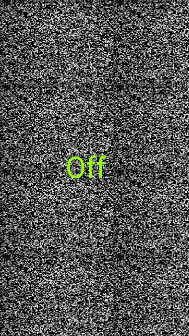 এবার হোম বাটন চেপে ধরে স্ক্রিন অফ করুন, কেও বুঝতেই পারবে না কিভাবে স্ক্রিন অফ হচ্ছে। মনে হবে Television চালু হচ্ছে।  Only 5.1+ মারর্শোমালো  User