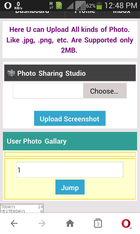 ☞ কিভাবে Wapka তে Screenshot  Upload সিস্টেম চালু করবেন।।।By #Ramjan