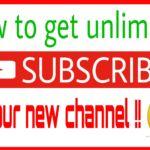 আপনার নতুন ইউটিউব চ্যানেলে নিন আনলিমিটেড সাবস্ক্রাইবার। প্রতিদিন ৬০ জন করে। [Screenshot prov + video tutorial]