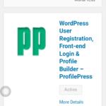 WordPress সাইটের জন্য নিয়ে নিন লগইন ও রেজিস্টিশন প্লাগিন