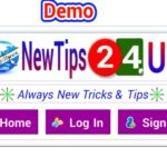 নিয়ে নিন newtips24 এর নন-লগিড ইউজারদের হেডার কোডটি। ব্যবহার করুন আর আপনার সাইট কে দিন অসাম লুক।