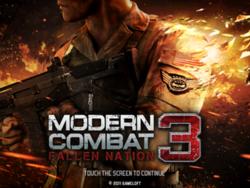 [Mega Game][4.2+][Offline] খেলুন Modern Combat 3 – Fallen Nation এর Mod ভার্সন আপনার Android ফোনে + সকল সমস্যার সমাধান। (512mb Support)