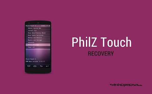 Phliz Touch Recovery For Walton Primo F7