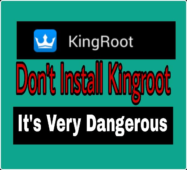 সাবধান! যারা মোবাইল Root করতে চাচ্ছেন তারা ভুলেও Kingroot ইন্সটল করবেনা। জেনে নিন এর অপকারীতা।