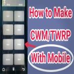 [No Root No Pc]মোবাইল দিয়ে তৈরি করুন cwm/twrp recovery.img আর হয়ে যান নিজেই ডেভেলপার