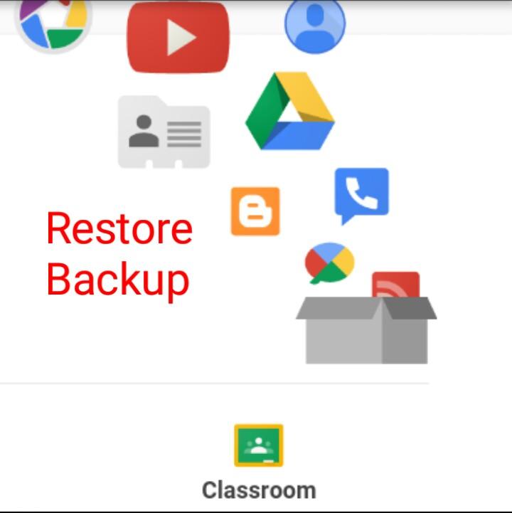 নানা সময়ে Backup করা Google এর 26 টি Services এর ডাটা Restore করব যেভাবে