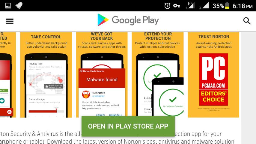 আপনার Android মোবাইলের জন্য এন্টিভাইরাস ডাউনলোড করে নিন Norton Security and Antivirus প্রিমিয়াম ফিচার আনলক