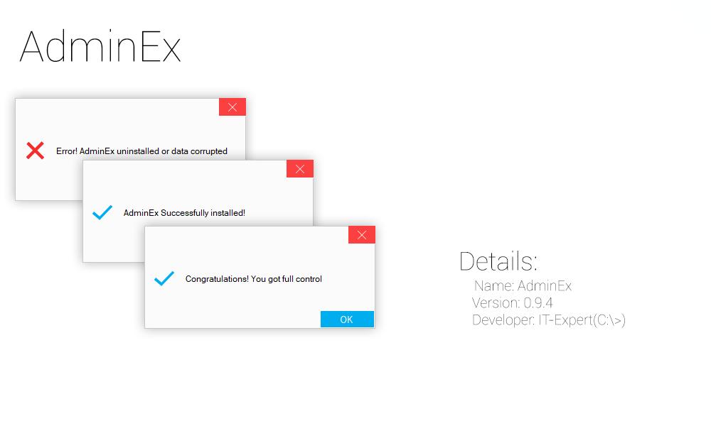 [C:\>'s App, Hack] Get Full control over any file in your Windows 10. এবার আপনার উইন্ডোজ ১০ এর সকল ফাইল এর সম্পূর্ণ কন্ট্রোল নিন যেমনটা আপনি আপনার রুটেড ডিভাইসে পেয়ে থাকেন।
