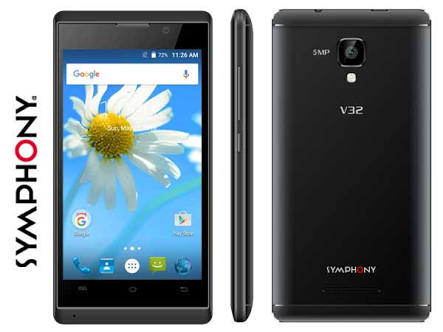 Symphony  V75 Root Problems Couldfone