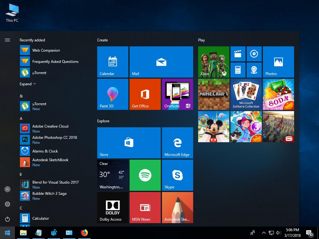 [Combined][Complete solution] Windows 10 Fall Creators Update সেটাপ করার ফুল প্রসেস।