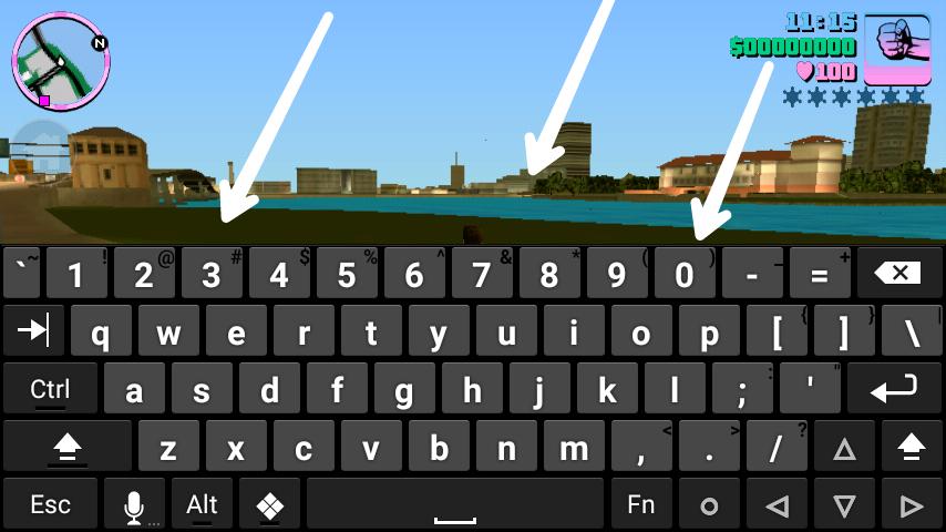 Android ফোনে  GTA Vice City গেমস  এ Code লিখবেন যে ভাবে ।