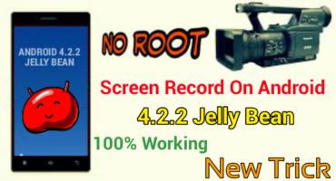 অাপনার 4.2.2 জেলি বিন ভার্সনে Screen Record করুন কোনো রুট ছাড়াই – How To Record Screen On Android 4.2.2 Mobile Without Root 2018