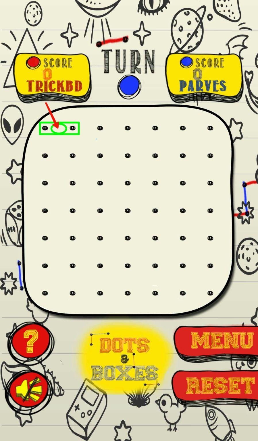 এখন আপনার ফোনেই খেলুন ছোটবেলায় খেলা Dots & Boxes Game..