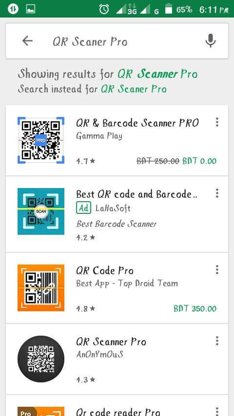 [Only for 11 Hour] ডাউনলোড করুন ২৫০ টাকা দামের একটি scanner app একদম ফ্রি তে