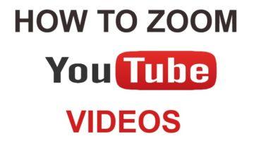 জেনে নিন YouTube ভিডিওগুলো কিভাবে zoom করে দেখবেন?কোন প্রকার apps এর সাহায্য ছাড়াই