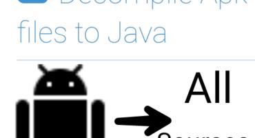 যে কোন অ্যাপ এর সোর্স কোড (MainActivity.java+All files) বের করুন সহজেই