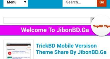 নিয়ে নিন Abc24 বা JibonBD এর ব্লোগার টেমপ্লেট।