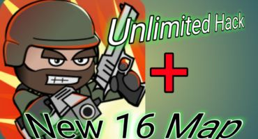 Mini Militia Destruction Hack [Death sprayer + Magic bomb throw + Invisible Weapon+ 16 new map ]